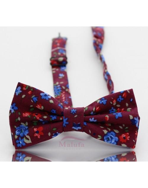 110-04 Flores Rojas/azules