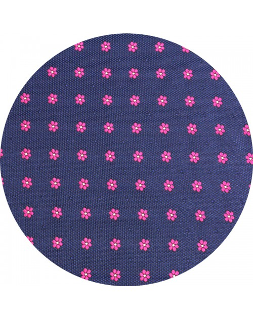 800-91 Azul flor Fuccia