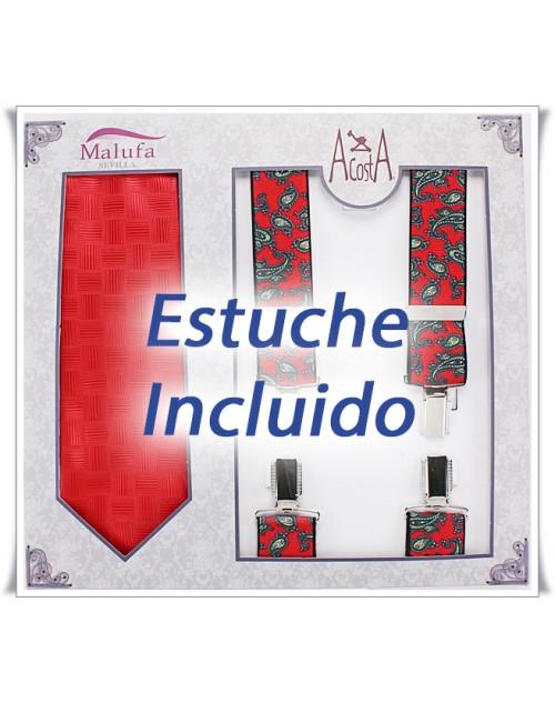 Estuche Corbata/Tirante