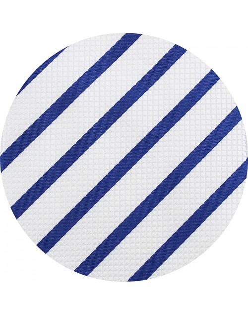 260-98 Blanco y Rayas Azules